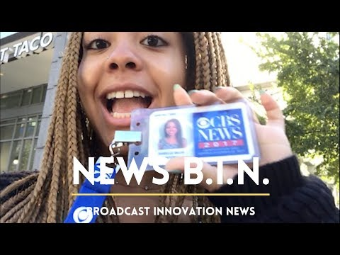 Intern-Life! [Behind the Scenes at a CBS News Stakeout]