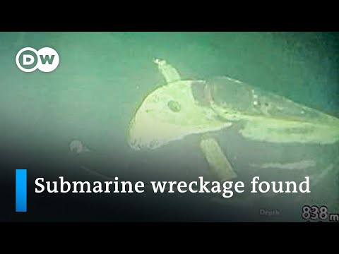 Sunken Indonesian submarine wreckage located on seafloor   DW News