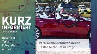 Bestmixer, Tesla, Fotografie, Arduino | Kurz informiert vom 23.05.2019