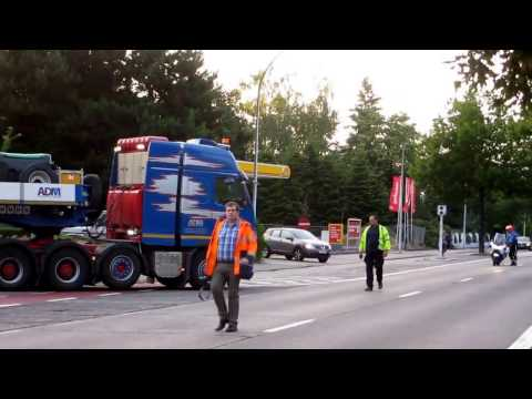 ADM: Skid Transport from VDL KTI to Heavy Lift Terminal ADM Westerlo