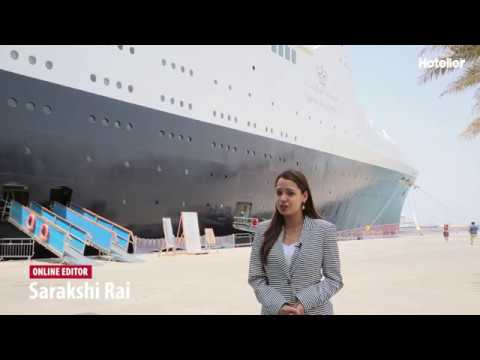 Dubai's newest floating hotel - the famous Queen Elizabeth 2 (QE2)