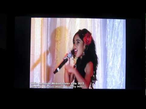 """White Memorial Medical Center Gala 2012"" - Analise Hoveyda singing ""Gypsy"" cover by Shakira"