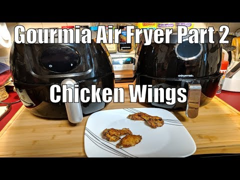 Gourmia Air Fryer Part 2 Continued- Chicken Wings - Keto Low Carb