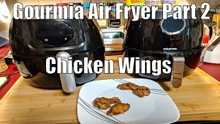 Gourmia Air Fryer Part 2 Continued- Chicken Wings