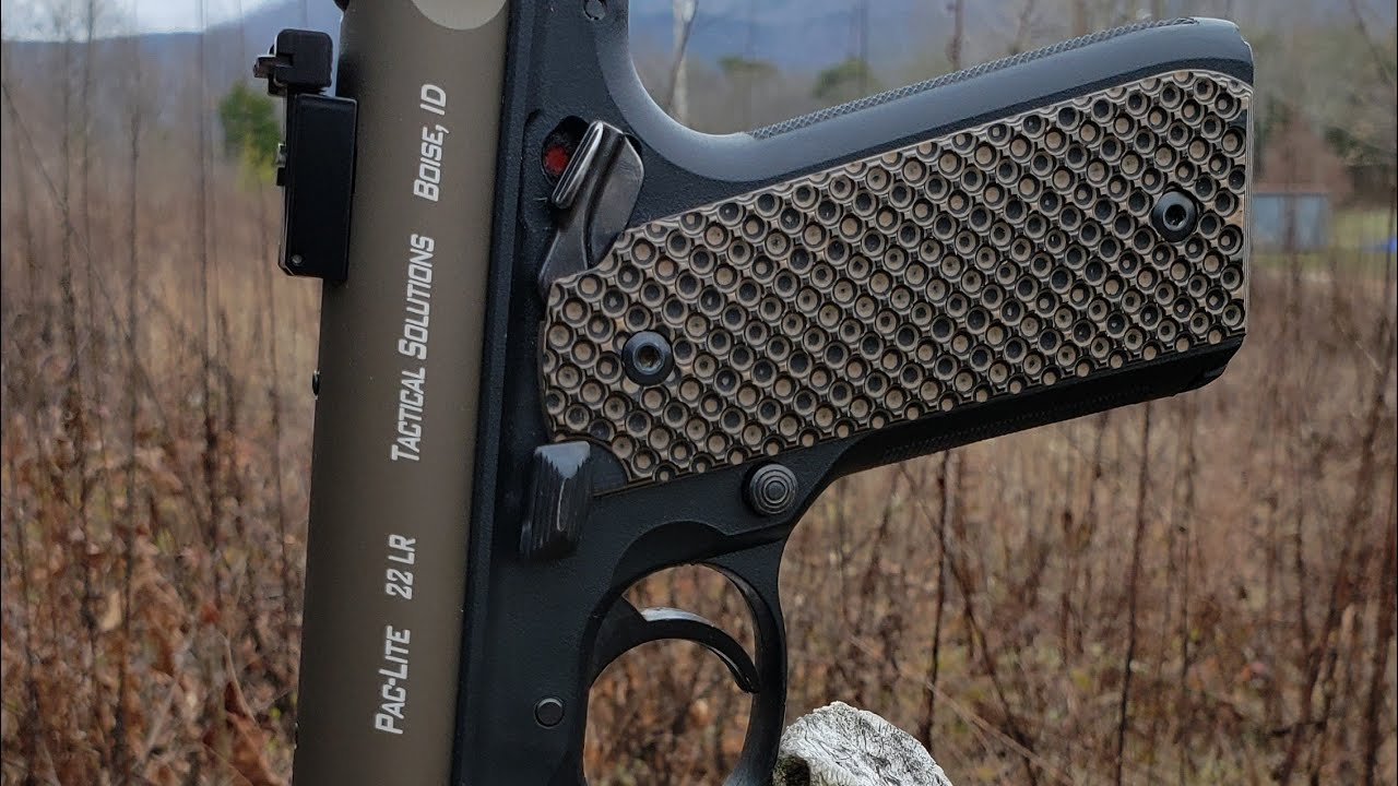 Ruger 22/45 Mark IV Tactical Solutions Pac-Lite And LokGrips Bogies: How Far Can I Shoot It?