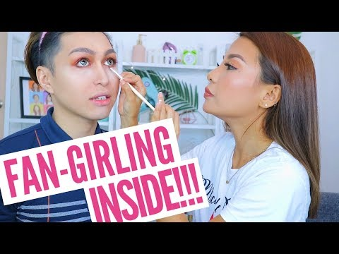 MICHELLE DY DOES MY MAKEUP! PANGARAP KO TO SHET!!