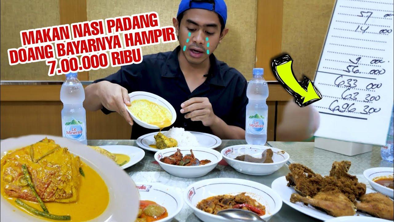 DOMPETNANGIS! MUKBANG NASI PADANG HARGA SULTAN!!