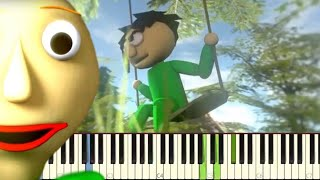 Baldi's Basics Song - Every Door - Piano Cover / Tutorial - CG5 feat. Caleb Hyles