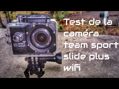 Test Camera Team Sport Slide Plus Wifi de chez Leclerc
