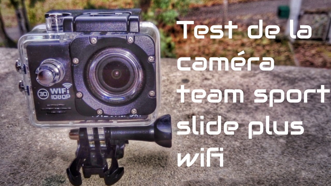 test camera team sport slide plus wifi de chez leclerc youtube. Black Bedroom Furniture Sets. Home Design Ideas