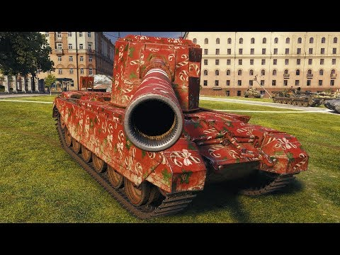 FV4005 Stage II - ONE PUNCH MAN - World Of Tanks Gameplay
