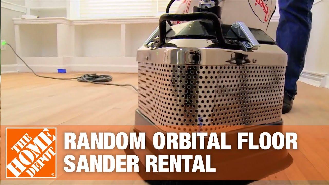 Random Orbital Floor Sander Rental  YouTube