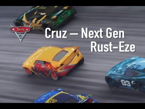 Cars 3 Cruz Ramirez Next Generation Rust Eze Racer