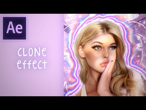 CLONE EFFECT (sapphire needed) | after effects tutorial