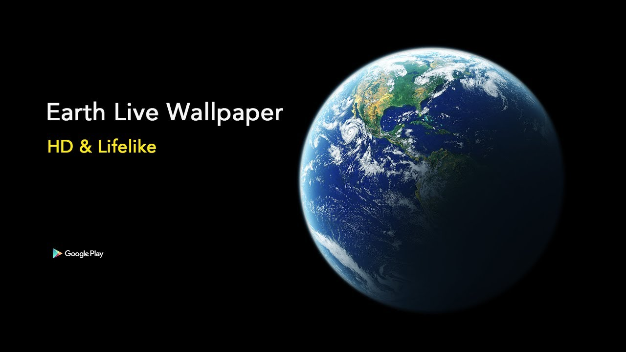 Earth Live Wallpaper HD - YouTube