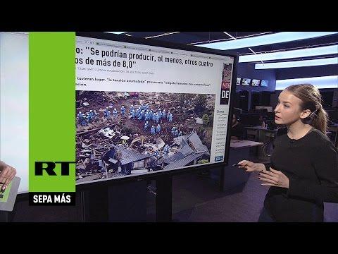 ¿Es el sismo de Ecuador el comienzo de una época de megaterremotos?
