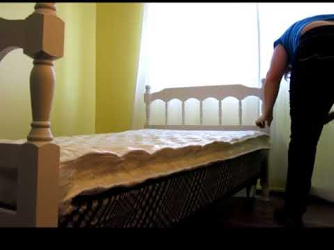 Home Life Comfort Sleep 6 Inch Mattress Twin Youtube