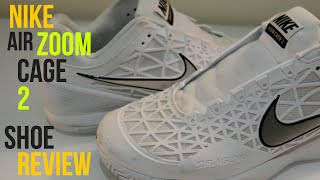 Nike Air Zoom Cage 2 Tennis Shoe Review