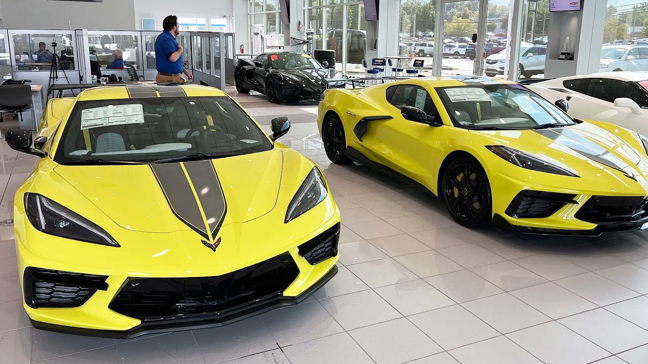 Which C8 Corvette would you pick? #shorts
