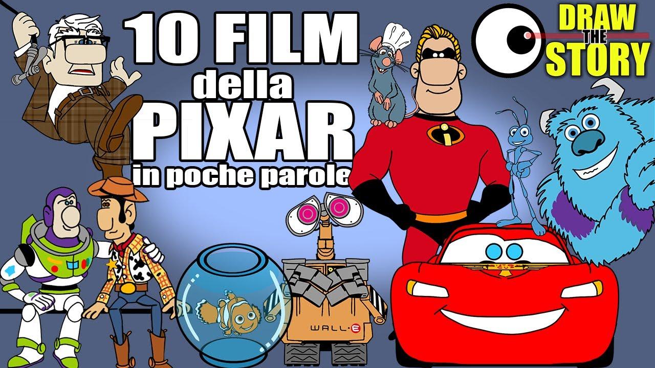 Download 10 FILM della PIXAR in poche parole (ft @Marion Blue ) 🧸 Draw The Story