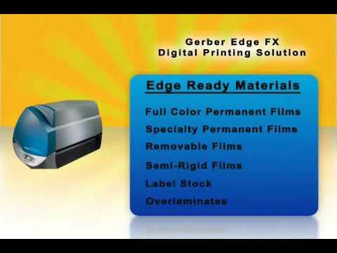 Gerber EDGE FX - Thermal Digital Printer - ND Graphics