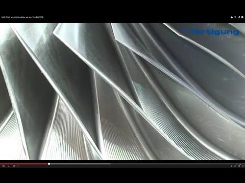 MAN Zürich fertigt XXL-Laufräder auf einer Trimill HC2520