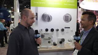 Danalock - Smart Locks that support multiple hubs - Interview - CES 2019 - Poc Network