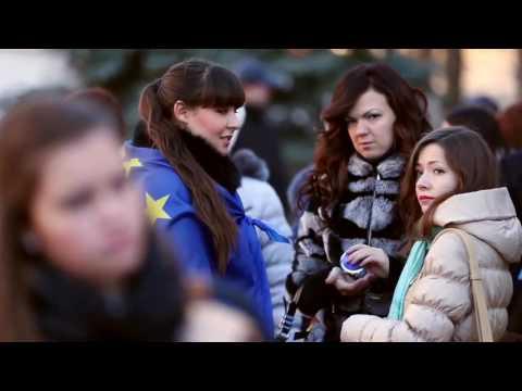 Kyiv Mohyla students strike b roll 27 NOV 2013 3