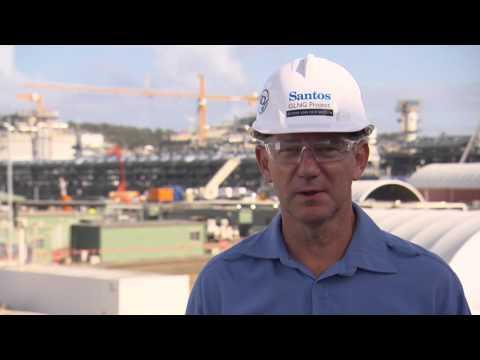 Santos GLNG's Robin van der Wegen shares his experiences