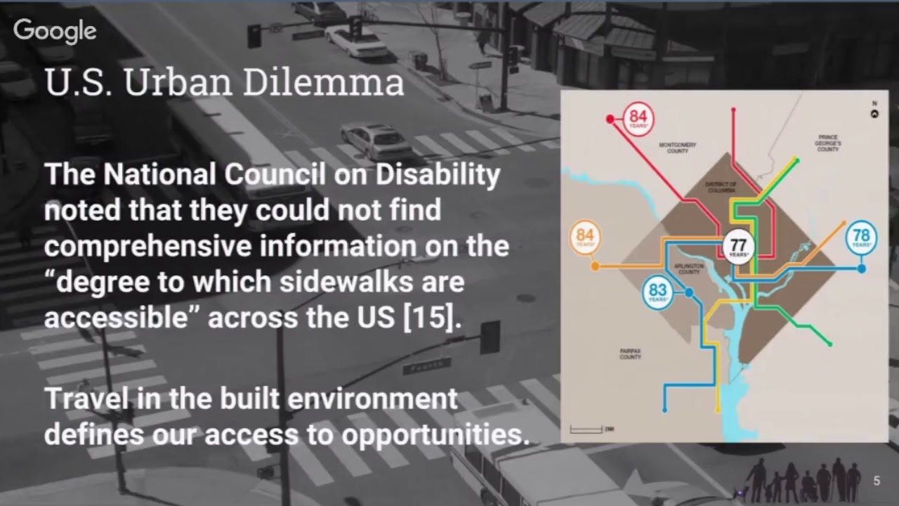 Sidewalks Get Personal: A Pedestrian-Centered Approach for Equitable Urban  Wayfinding