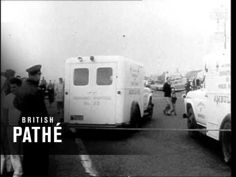 Wine Tanker Disabled In Gale (1960)