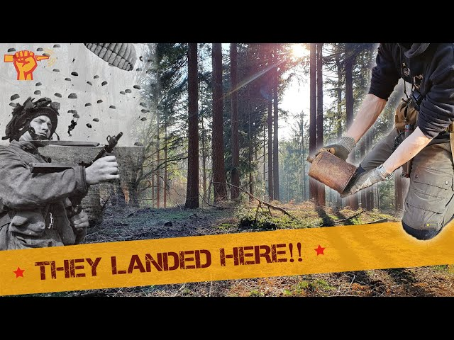 WW2 Discoveries at British AIRBORNE Dropzone