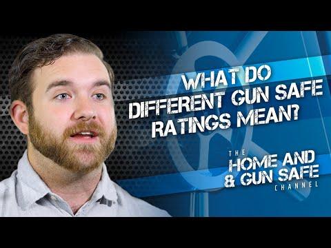 Gun Safe Ratings Explained