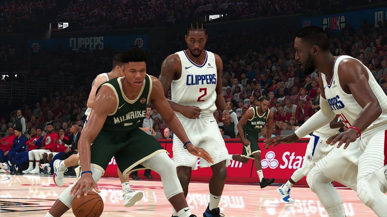 NBA Today 11/6/2019 - Milwaukee Bucks vs Los Angeles Clippers – NBA 2K20  PS4 - YouTube