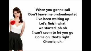 Brokenhearted Karmin LYRICS VIDEO