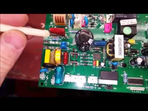 Ошибка Е1 на котле Electrolux GCB 24-32 Hi-Tech Fi
