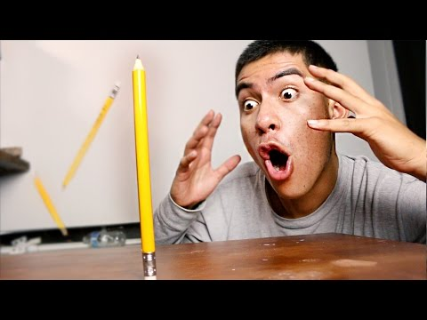IMPOSSIBLE PENCIL FLIP TRICK SHOTS!