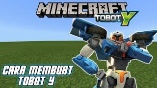 Cara Membuat Tobot Y Di Minecraft