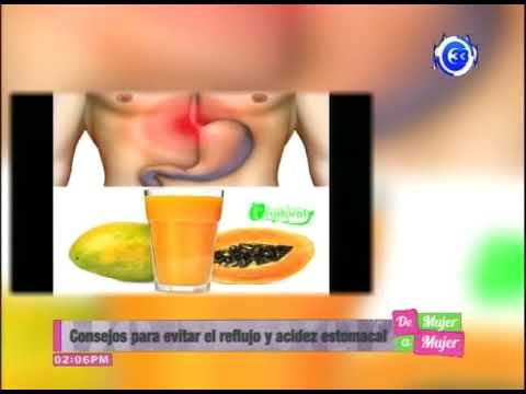 remedios caseros para evitar el reflujo gastroesofagico