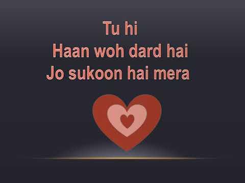 Mujhe De De Har Gham Tera Full Song Karaoke with Lyrics   Haunted   Aftab Shivdasani, Tia Bajpai