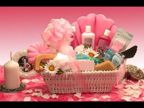 Wedding Gift Ideas For Ladies : ... for women gifts for women : Gift baskets for women ideasYouTube