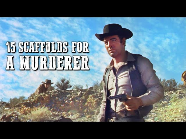 15 Scaffolds for a Murderer | ACTION | Full Western Movie | Drama | Cowboy Film | English