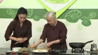 Chương trình dạy nấu món chay Ram nấm - Chả giò nấm Hướng dẫn: Nguy...