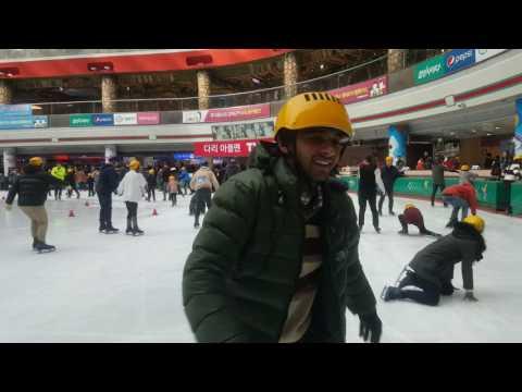 ice skating seoul,south korea