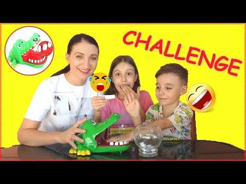 CHALLENGE !Crocodile Dentist