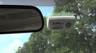 How to properly install your Ohio E-ZPass Transponder