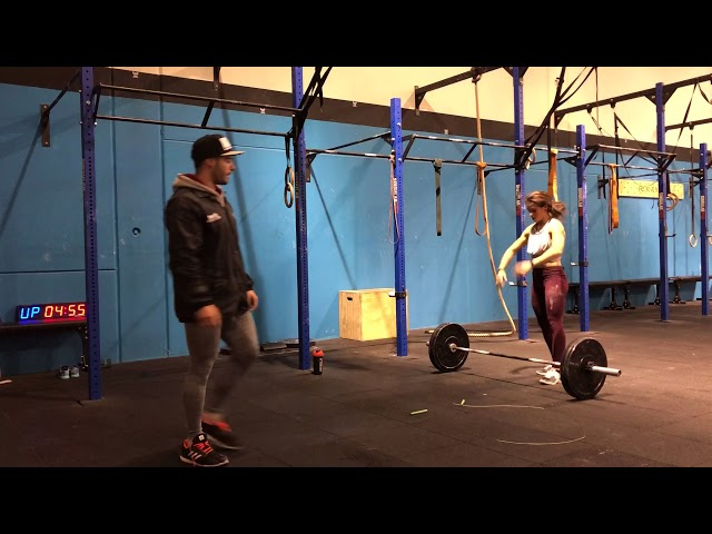 THE PARTNER GAMES 2018, wod 18.2, LIFT4LAUGHS, Rx
