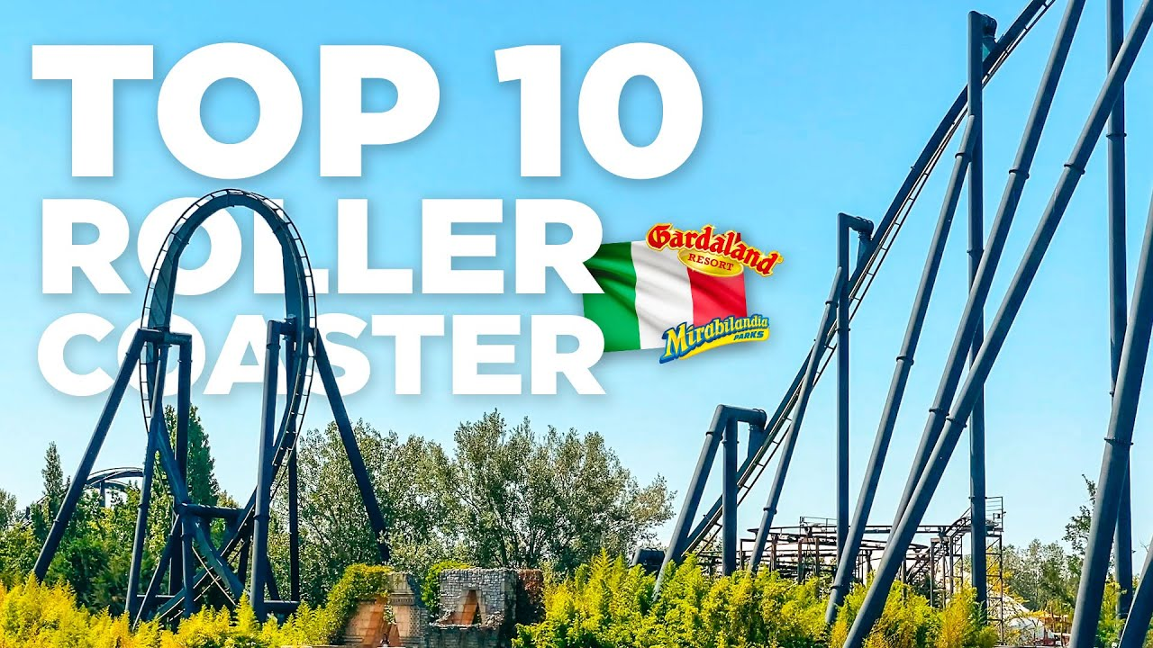 TOP 10 roller COASTER in ITALIA 2021