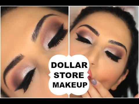 Dollar Store Makeup Challenge | Full Face |