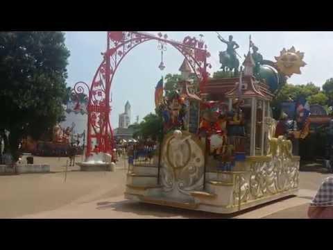Afternoon parade, Shima Spain Park - Parque España, Mie Prefecture
